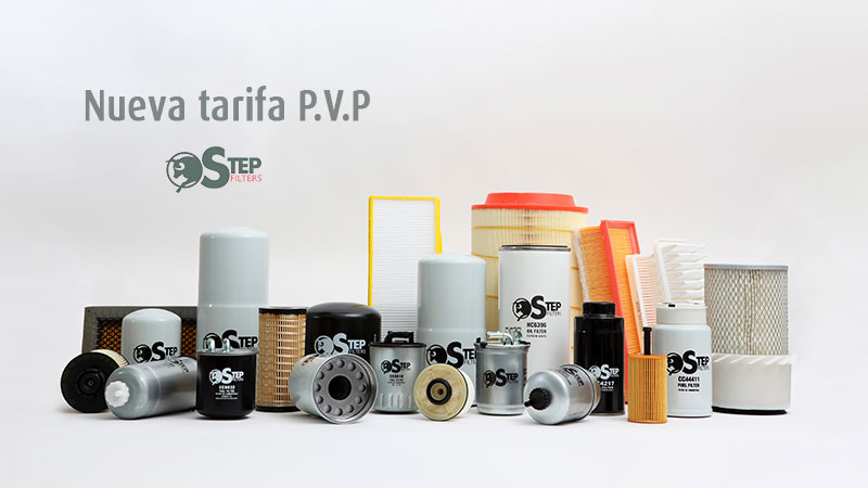 Nueva tarifa STEP FILTERS